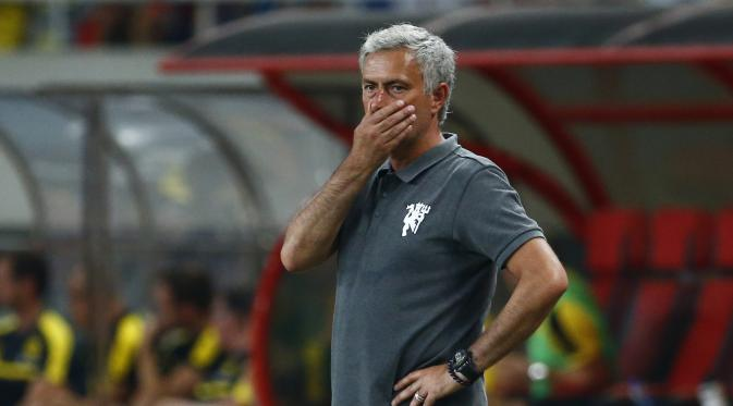 Dea Gea kiper Manchester United yakin kepada Mourinho