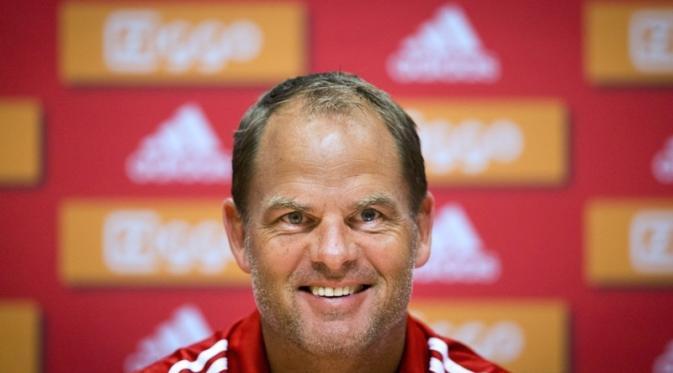 Frank de Boer Manager baru Inter Milan sedang Incar pemain