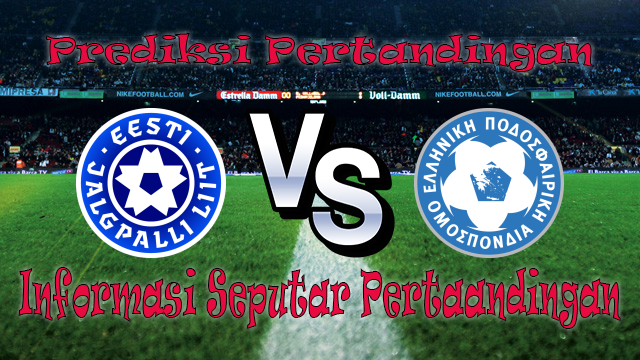 Perkiraan Estonia vs Yunani
