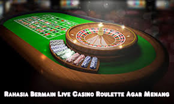 judi live casino roulette online